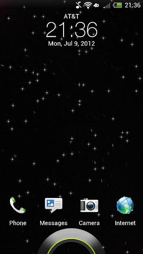 Dark Sky Falling Stars