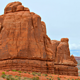 by Becky Holmes - Landscapes Deserts ( desert, rock formations, landscape, rocks, deserts )
