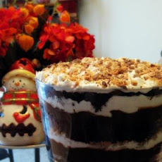 Kahlua Chocolate Trifle