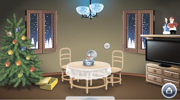 Screenshot of Room Escape: Bob's Christmas