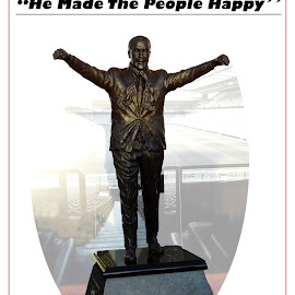 Shankly by Simon O'Neill - Buildings & Architecture Statues & Monuments ( statue, shankly, liverpool )