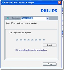 Phillips Go Gear SA-31xx Media Player Repair