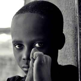 I see you by Gabriela Ileana Iacobuta - Novices Only Portraits & People ( child, look, stare, tanzania, eyes )
