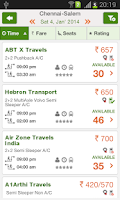 Screenshot of Ticketgoose Online Bus Tickets