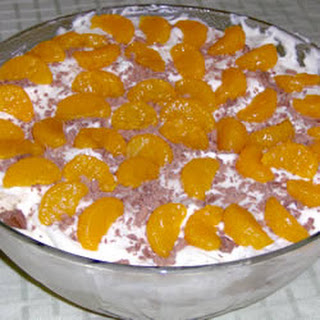Orange Blossom Trifle
