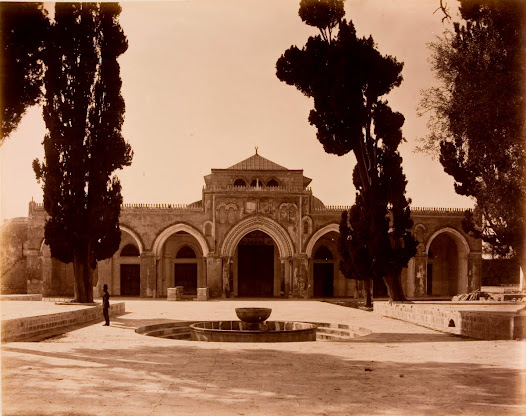View of Al-Aqsa Mosque from the north