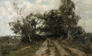 RIJKS: Théophile de Bock: painting 1904