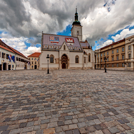 Square of St. Marko by Miro Cindrić - Buildings & Architecture Public & Historical
