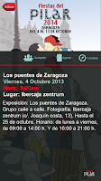 Screenshot of Fiestas del Pilar