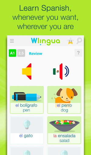 Learn Spanish with Wlingua Screenshot