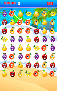Deluxe Fruits Forever Star Pop - screenshot