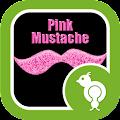 App Go Locker Pink Mustache apk for kindle fire