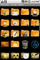 Screenshot of UFP Icons - Grungy Folders
