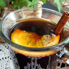 Brewed Orange Cinnamon Coffee
