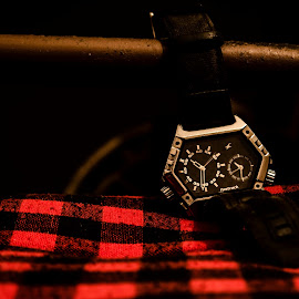 time plssss by Rahul Nair - Artistic Objects Clothing & Accessories ( abstract, idea, time, watch, night )