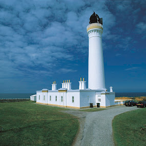 Covesea Skerries by Annette Flottwell - Buildings & Architecture Public & Historical ( covesea_skerries, scotland, covesea skerries, northern lights, lighthouse,  )