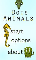 Screenshot of Dots! Animals