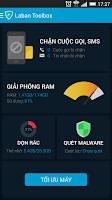 Screenshot of Laban Toolbox sms & call block