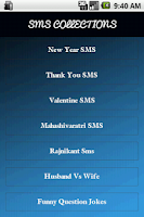 Screenshot of 90000+ SMS Messages Collection