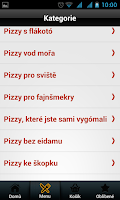 Screenshot of Maníkova pizza Brno