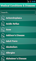 Screenshot of Diseases Dictionary ✪ Medical