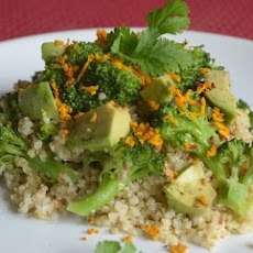 Quinoa & Broccoli Salad With Almonds