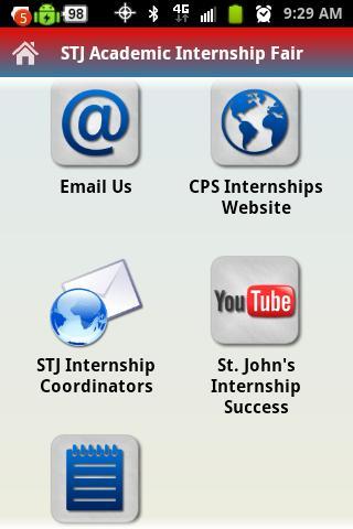 STJ Academic Internship Fair