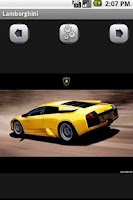 Screenshot of Lamborghini Wallpaper