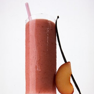 Vanilla, Plum, and Buttermilk Smoothie