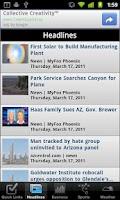 Screenshot of Phoenix Local News