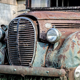 Rust Bucket by Calvin Morgan - Transportation Automobiles ( automobile, 1938 ford, tokina 100mm, nikon d7000, antique )