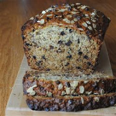 Oat-Chip Banana Bread