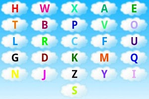Screenshot of ABC alphabet/abeceda