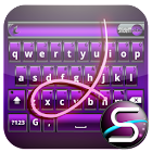 SlideIT Purple Metal Skin icon