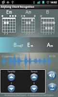 Screenshot of AnySong Chord Recognition