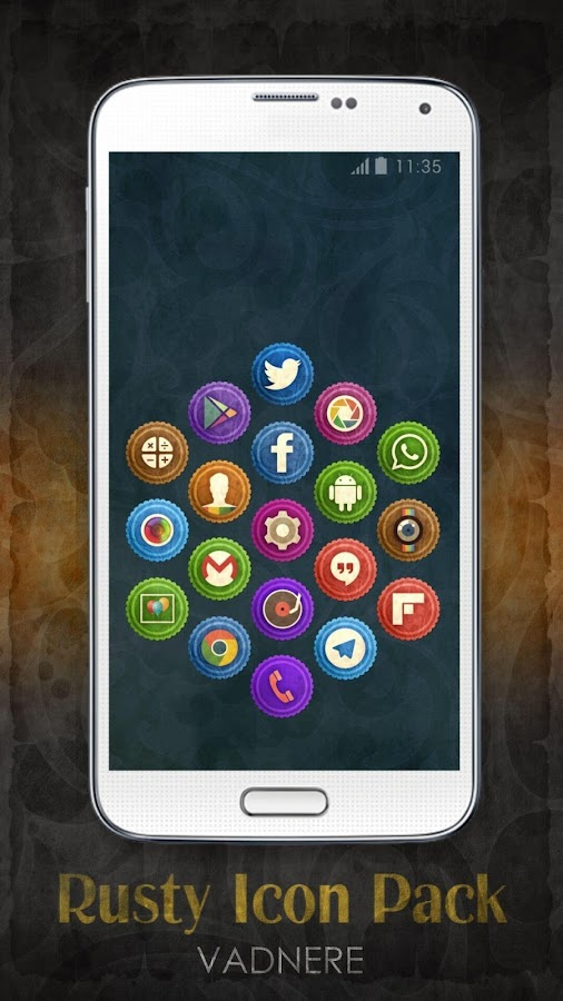 Rusty Icon Pack TSF Nova Apex Screenshot 15