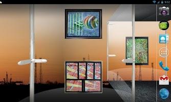 Screenshot of Glass Gallery Live Wallpaper
