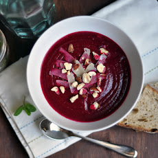 Roasted Beet and Fennel Soup