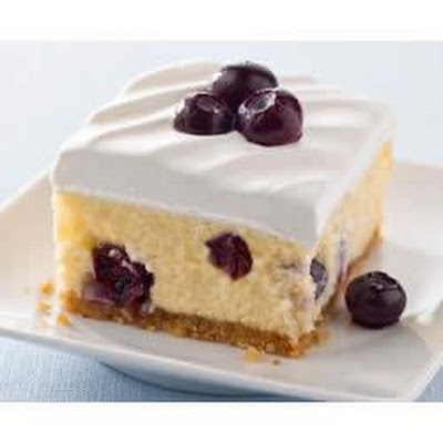 Creamy Lemon-Blueberry Dessert