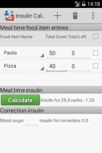 Insulin Calculator