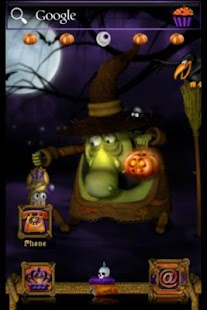 ADW Theme Halloween Witch - screenshot
