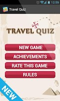 Screenshot of Travel Quiz Guess