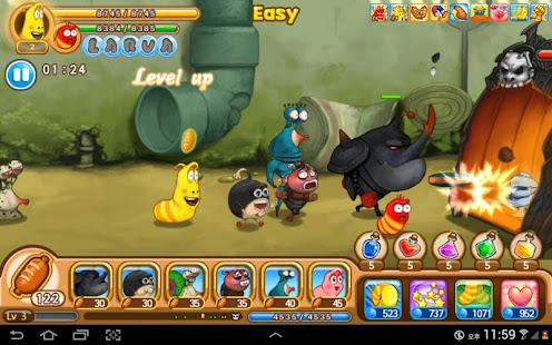 Larva Heroes: Lavengers 2017 APK for Bluestacks