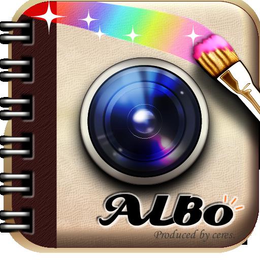 ALBO 稼げるデコカメラ LOGO-APP點子