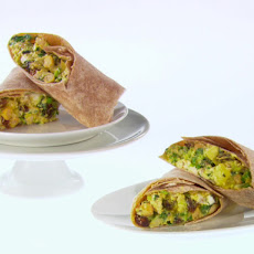 Curried Chicken and Apple Wraps