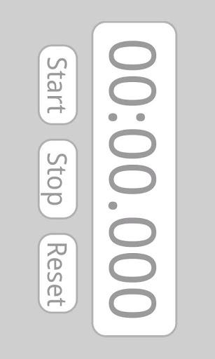 簡單的計時表