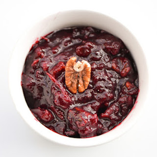 Cranberry Sauce With Orange Zest And Pecans Recipes