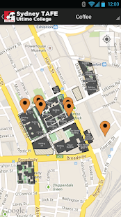 Sydney TAFE Map - screenshot