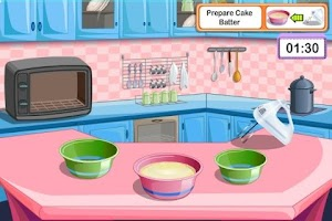 Screenshot of Lemon Cake Cooking