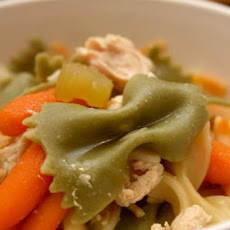 Chicken Noodle Soup (Crock Pot)